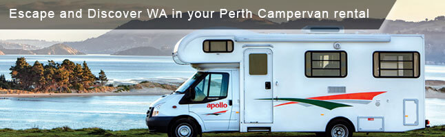 Hire Campervan in Perth