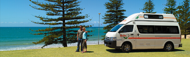 Hire Campervan in Auckland