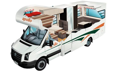 Euro Star Motorhome with Mid-Range