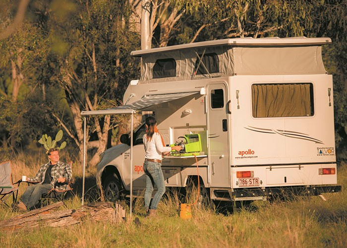 4WD Adventure Camper