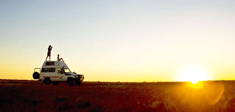 Drive to Alice Springs Outbacks in a 4WD Rental