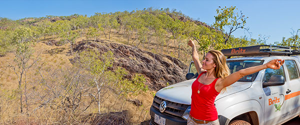 Hire a 4WD to Explore Darwin's Attractions