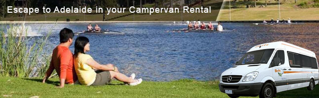 Hire a Campervan in Adventurous Adelaide