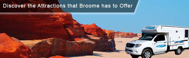 Explore Broome Destinations Renting a Campervan