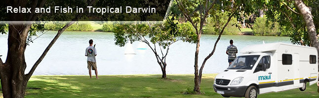 Relax & Explore Darwin with Campervan Rental