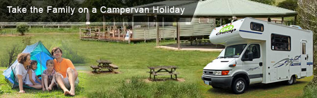 Rent a Campervan for Devonport Holidays