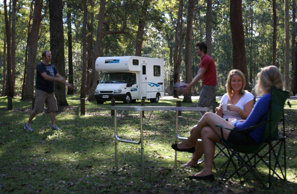 Enjoy with Family Renting Motorhome in Adelaide