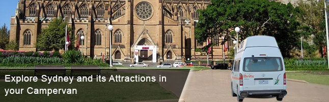Explore Sydney Attractions in a campervan rental
