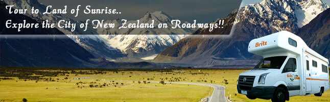 Wander around New Zealand in a campervan rental