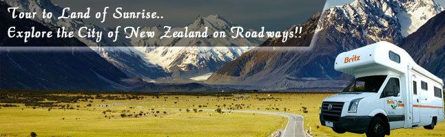Wander around New Zealand in a campervan rental