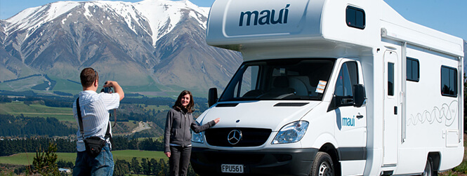 Explore Christchurch in a Campervan rental