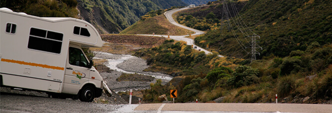 Explore Natural Woonders Hiring a Motorhome in New Zealand
