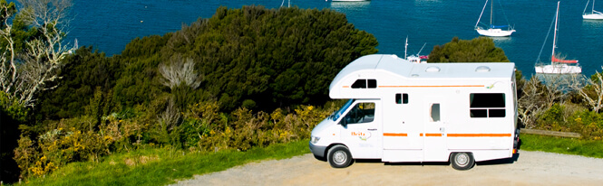 Motorhome Rental in Beautiful Auckland