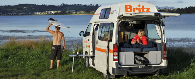 Hire a Motorhome in Christchurch these Holidays