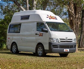 Campervan for Backpackers in Budget